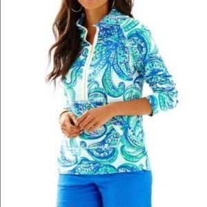 NWT LILLY PULITZER KEEP IT CURRENT POPOVER